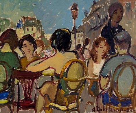 Areg Elibekian, Bistro on Ile Saint-Louis